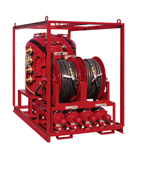 Fire Suppression Skid System