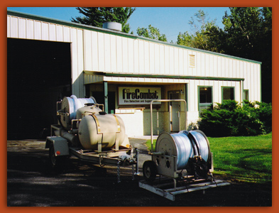 We design, manufacture and market customized industrial fire suppression systems at the Fire Combat World Headquarters in Marinette, WI
