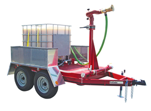 Foam Trailer Fire Fighting Systems